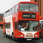 United 271 L271FVN is seen leaving Gateshead Interchange on 18 September 1993