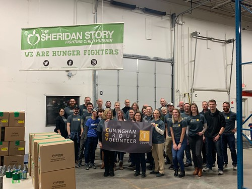 Cuningham Group Packing Event, 1/22/20