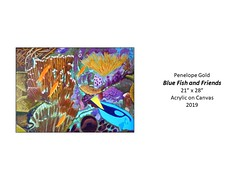 """Blue Fish and Friends • <a style=""""font-size:0.8em;"""" href=""""http://www.flickr.com/photos/124378531@N04/49451257096/"""" target=""""_blank"""">View on Flickr</a>"""
