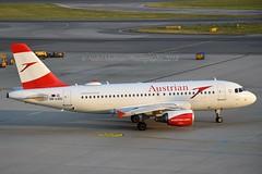 """Tbilisi"" Austrian Airlines OE-LDG Airbus A319-112 cn/2652 @ LOWW / VIE 21-06-2018 (Nabil Molinari Photography) Tags: tbilisi austrian airlines oeldg airbus a319112 cn2652 loww vie 21062018"