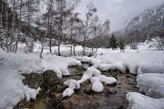 Madriu River, Andorra (StarCitizen) Tags: andorra winter snow water river stream mountains trees bestcapturesaoi elitegalleryaoi aoi