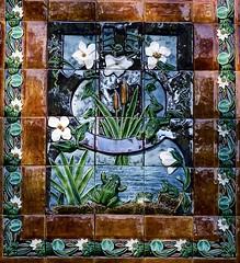 Tiles Panel (2009) - Rafael Bordalo Pinheiro (1846-1905)