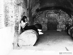 190706-054 Le Colisée (2019 Trip) (clamato39) Tags: olympus colisée rome italie italy europe voyage trip noiretblanc bw blackandwhite monochrome ruines ruins landmark patrimoine