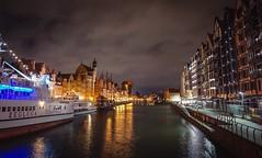 Gdańsk (Ula P) Tags: gdansk gdańsk dusk nightshot riber light water sky sony sonyalpha explore