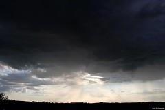 (Observer ☼☼) Tags: sky céu cielo clouds chuva rain lluvia southern brazil brasil paraná anoitecer pordosol severeweather tempo weather nuvemfunil funnelcloud