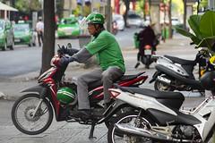 GrabBike Driver (Kokkai Ng) Tags: grabbike driver grab vietnam hochiminhcity ho chi minh moto bike uber saigon