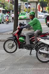 GrabBike Driver (Kokkai Ng) Tags: grabbike driver hochiminhcity ho chi minh saigon bike moto grab motorcycle uber transport job