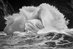 Where art and Physics meet (dwolters2) Tags: ocean winter storm washington waves capedisappointment explore