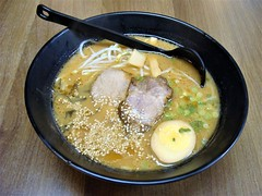 Shoyu Ramen (knightbefore_99) Tags: japanese japan ramen noodles tasty vancouver commercialdrive thedrive awesome soup eastvan shoyu pork egg delicious broth hinn art