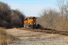 H1 for the win. (Shane692) Tags: bnsf railroad railfanning railroads railfans rail rails h1 missouri hannibalsub hannibal sky winter 2011