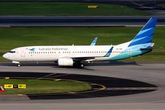 Garuda Indonesia   Boeing 737-800   PK-GNP   Singapore Changi (Dennis HKG) Tags: aircraft airplane airport plane planespotting skyteam canon 7d 100400 singapore changi wsss sin garuda garudaindonesia gia ga pkgnp boeing 737 737800 boeing737 boeing737800