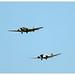 Junker Ju-52/3m - HB-HOS (Ju-Air) & Junker Ju-52/3m - F-AZJU (Amicale Jean Baptiste Salis)