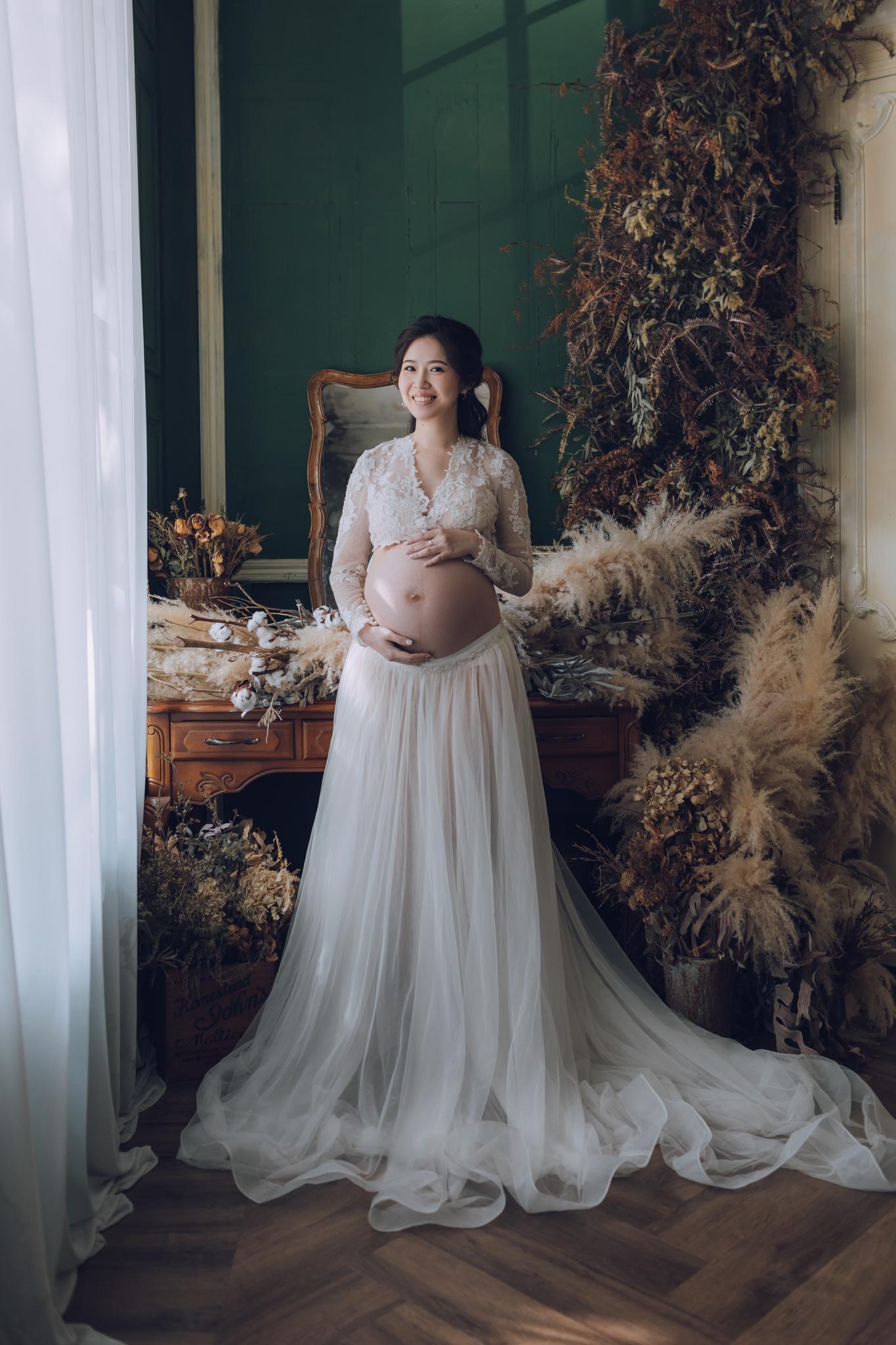 《孕婦寫真》筱文 / 攝影師 Eric Yeh / 良大攝影工作室