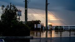 Settling some dust (OzzRod) Tags: pentax k1 zenitarm50mmf17 зенитарм wet rain thunderstorm sunset dusk pavement reflections dailyinjanuary2020