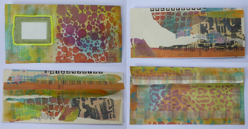 hand decorated envelopes