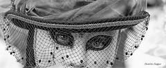 The look..... (caloli38) Tags: regard look noir blanc black white visage canon 5d3 faces monochrome venise venitienne