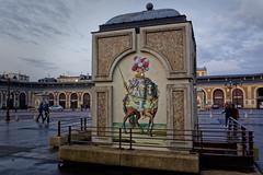 Place du Marché (Chrisar) Tags: angénieux2870 dxophotolab3 nikond750 soir street versailles