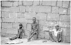 """""""Without labor nothing prospers.""""_Sophocles (Ramalakshmi Rajan) Tags: nikon nikond750 nikkor24120mm people india lifeinindia loborers blackandwhite blackwhite bw streetphotography bangalore"""