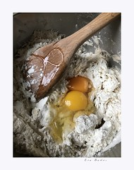Two eggs in a bowl (Krasne oci) Tags: cooking food eggs dough kitchen macro closeup recipe home countryside