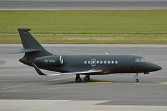 Abelag Aviation OO-VRO Dassault Falcon-2000LX cn/196 @ LOWW / VIE 22-06-2018 (Nabil Molinari Photography) Tags: abelag aviation oovro dassault falcon2000lx cn196 loww vie 22062018