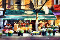 Buy Local....Think Global (sbox) Tags: shops shopfront painterly sbox declanod buildings architecture highstreet shopping grocery