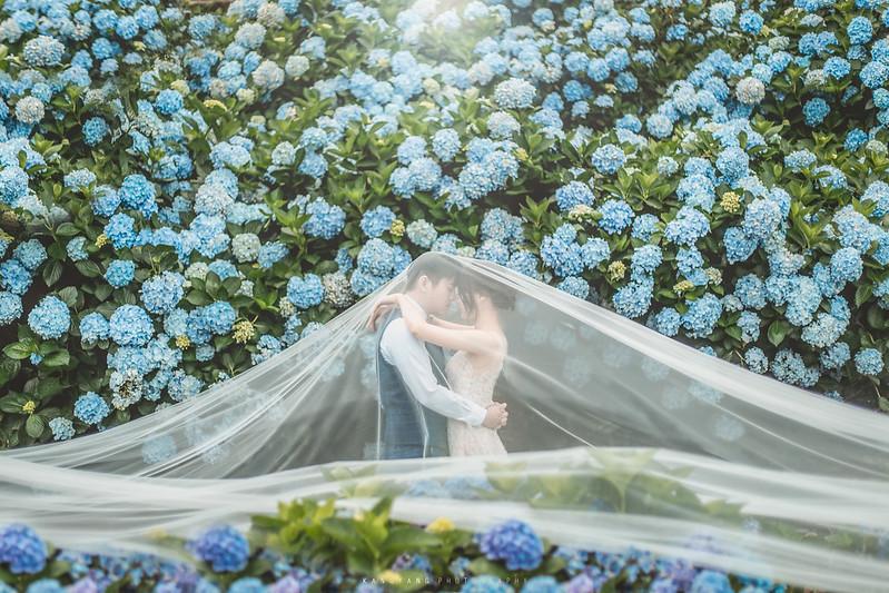 [婚紗攝影] Jerry&Shirley 國內自助婚紗攝影 @ 台北陽明山繡球花季 沙崙海灘 好拍市集 | #婚攝楊康