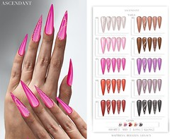 Kinky | January 28th (Kah Melody | ASCENDANT) Tags: ascendant kinky bento nails maitreya legacy belleza short mid long extra polish gems