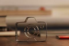 My new camera (Elbmaedchen) Tags: kamera backform backen present toy