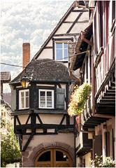 233 - UN RINCÓN CON ENCANTO - KAYSERSBERG - FRANCIA - (--MARCO POLO--) Tags: pueblos edificios casas arquitectura rincones ventanas galerías