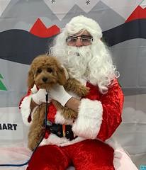 Pasiley talking to Santa