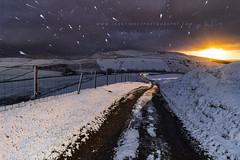 Blizzard Sunrise (John Finney) Tags: hayfield derbyshire unitedkingdom blizzard snow weather winter peakdistrict kinderscout