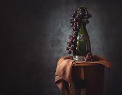3_52 grape wine (Sigita JP) Tags: 52weekchallenge grapes wine tabletop stilllife