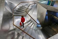 Caixa Forum Madrid (Matthijs Borghgraef | Kwikzilver) Tags: photography matthijsborghgraef fotografie kwikzilver madrid españa architecture stairs spiral design spain interior staircase caixaforum travel