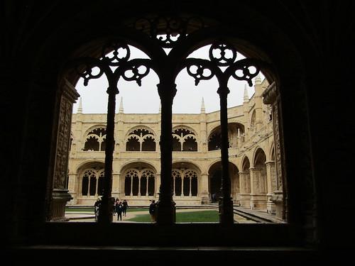 Intricately carved windows - Jeronimo's Monastery