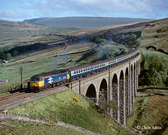 Trains Of Yesteryear (chrissyMD655) Tags: sc settle carlisle arten gill viaduct large logo class 47 47597 br dentdale