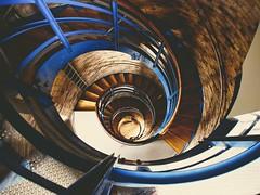 Lighthouse stairs | 8. September 2013 | Flügge - Fehmarn - Schleswig-Holstein - Deutschland (torstenbehrens) Tags: lighthouse stairs | 8 september 2013 flügge fehmarn schleswigholstein deutschland olympus epm1