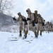U.S. Marines conduct bilateral ski patrol training with Soldiers from the Japan Ground Self-Defense Force