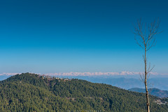 Bhurban (imtiazchaudhry) Tags: mountains landscape trees skies blue snow clad beautiful mountain resort tourist