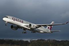 A7-ALF Airbus A350-941 EGPH 28-01-20 (MarkP51) Tags: scotland airport edinburgh edi airliner egph plane airplane nikon image aircraft aviation d500 sunshine sunny airbus a7alf qr qatarairways qtr a350 a350941 nikonafp70300fx