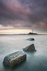 The Lookout (gcfotographos) Tags: ngc england sunset longexposure sea lighthouse tynewear stmarys uk europe nikon