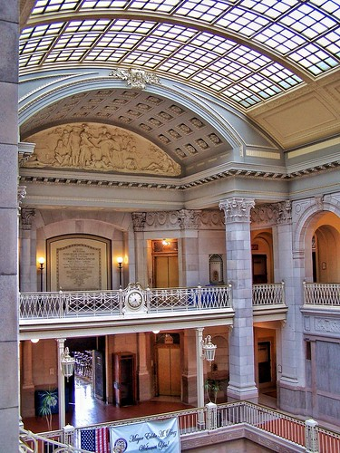 Hartford Connecticut ~ Municipal Building Atrium ~ Historical Building