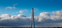 The Northern Spire. . . (CWhatPhotos) Tags: cwhatphotos camera photographs photograph pics pictures pic picture image images foto fotos photography artistic that have which contain digital olympus four thirds thenorthernspire new bridge crossing northern spire sunderland tyne and wear river opening public view views span brand cantilever flickr gittersteigen