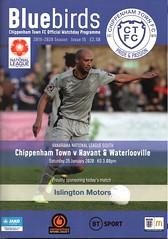 Chippenham Town v Havant & Waterlooville (Havant & Waterlooville) Tags: havant waterlooville chippenham town national league south football programme