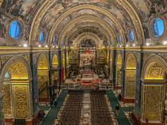 St John's cathedral, Valletta. (Ian Emerson (Thanks for all the comments and faves) Tags: stjohnscathedralvalletta cathedral valletta malta capitalcity europe iphonexsmax apple decor ornate catholic baroquestyle girolamocassar