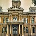 Cambridge Ohio-  Guernsey County Courthouse - Architecture  -  Second Empire