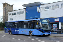 67276 - YX69 NSO (Solenteer) Tags: thestar firstsolent firsthampshiredorset 67276 yx69nso alexanderdennis e20d enviro200mmc waterlooville