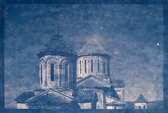 Cyanotypie / Cyanotype - Gelati Monastery
