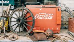 Have A Coke And A Smile (Dysfunctional Photographer) Tags: cocacola freezer soda perryville arkansas 2020 usa nikon z7 nef raw lr wagonwheel day antiques