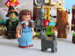 We're not in Kansas (back2s0ul) Tags: lego friends snow resort ice rink wizard oz emmet wyldstyle lucy movie minifigures minifigs dorothy scarecrow toto tinman lion
