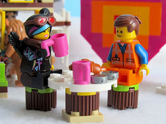 I'll drink to that (back2s0ul) Tags: lego friends snow resort ice rink wizard oz emmet wyldstyle lucy movie minifigures minifigs dorothy scarecrow toto tinman lion
